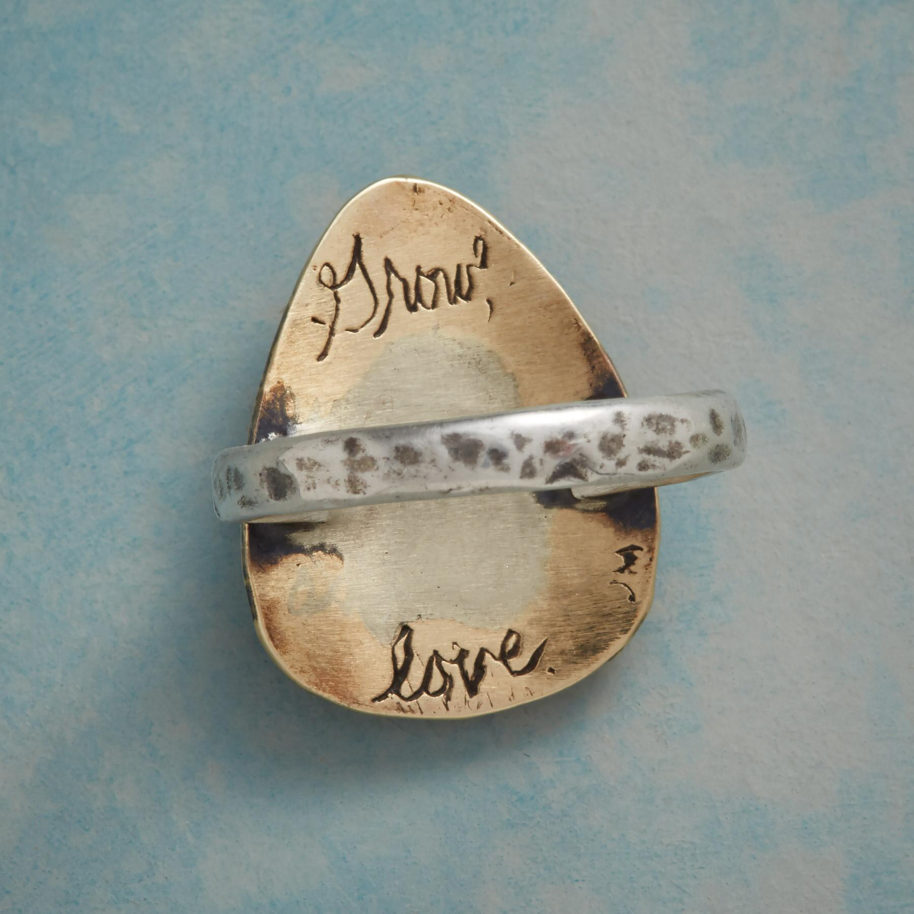 GROW WITH LOVE RING: View 2