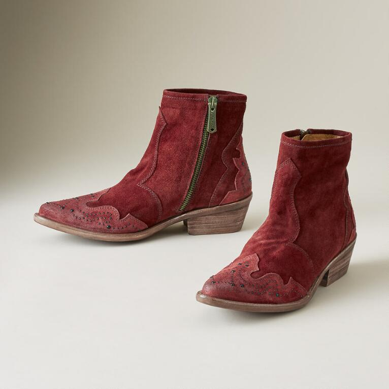ANDALUCIA SUEDE BOOTS