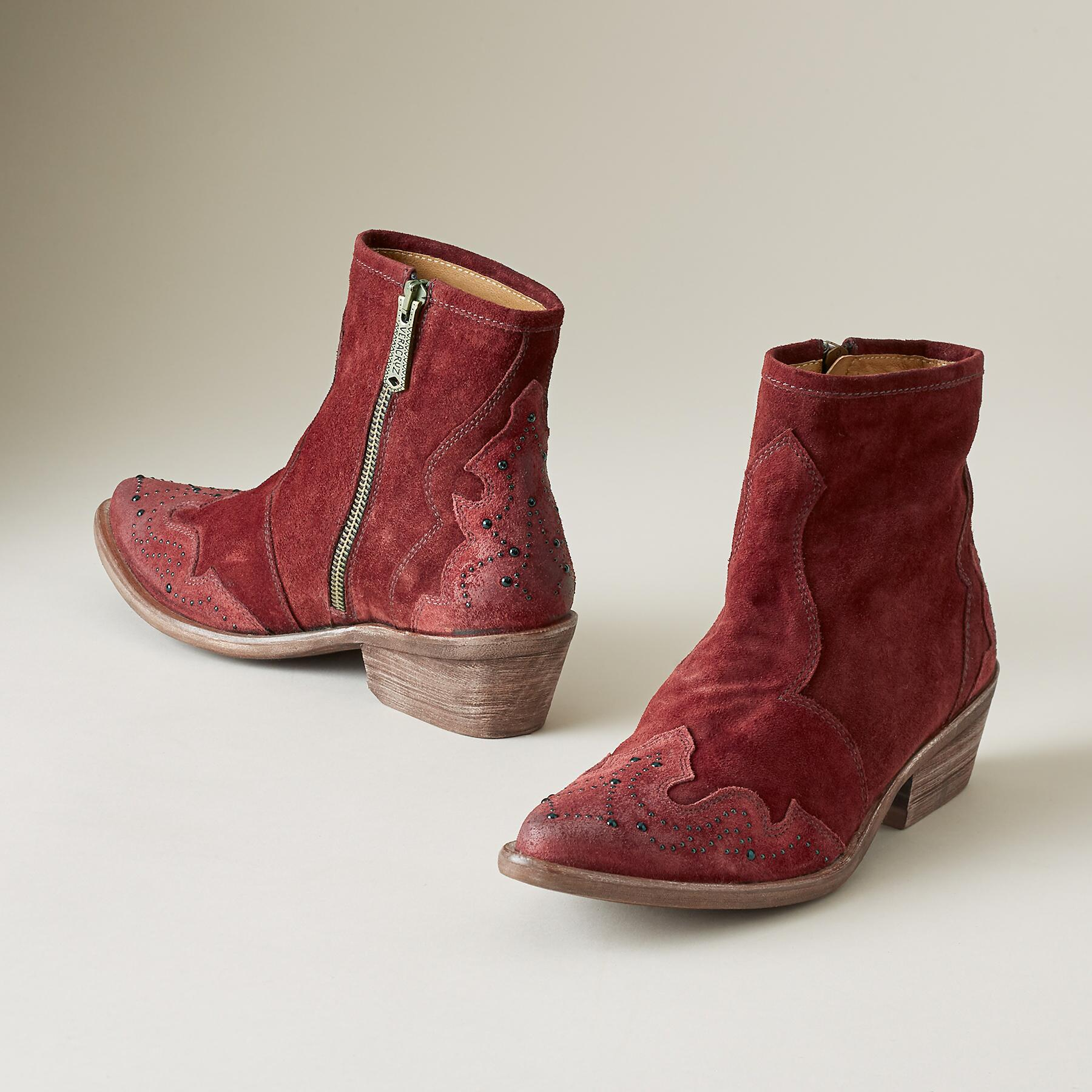 ANDALUCIA SUEDE BOOTS: View 2