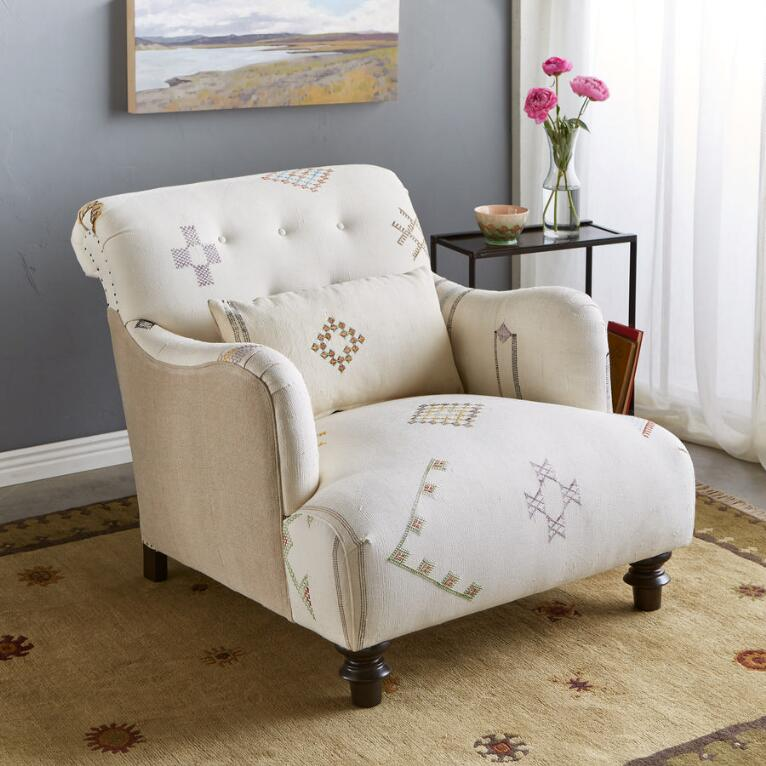 TESSAOUT MOROCCAN CLUB CHAIR