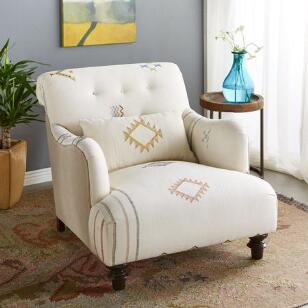 CHARF MOROCCAN CLUB CHAIR