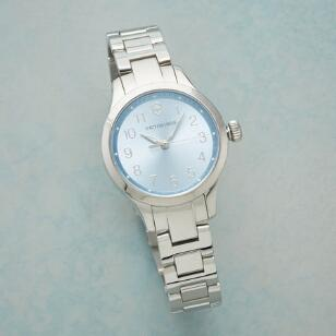 ICE BLUE SWISS ARMY WATCH