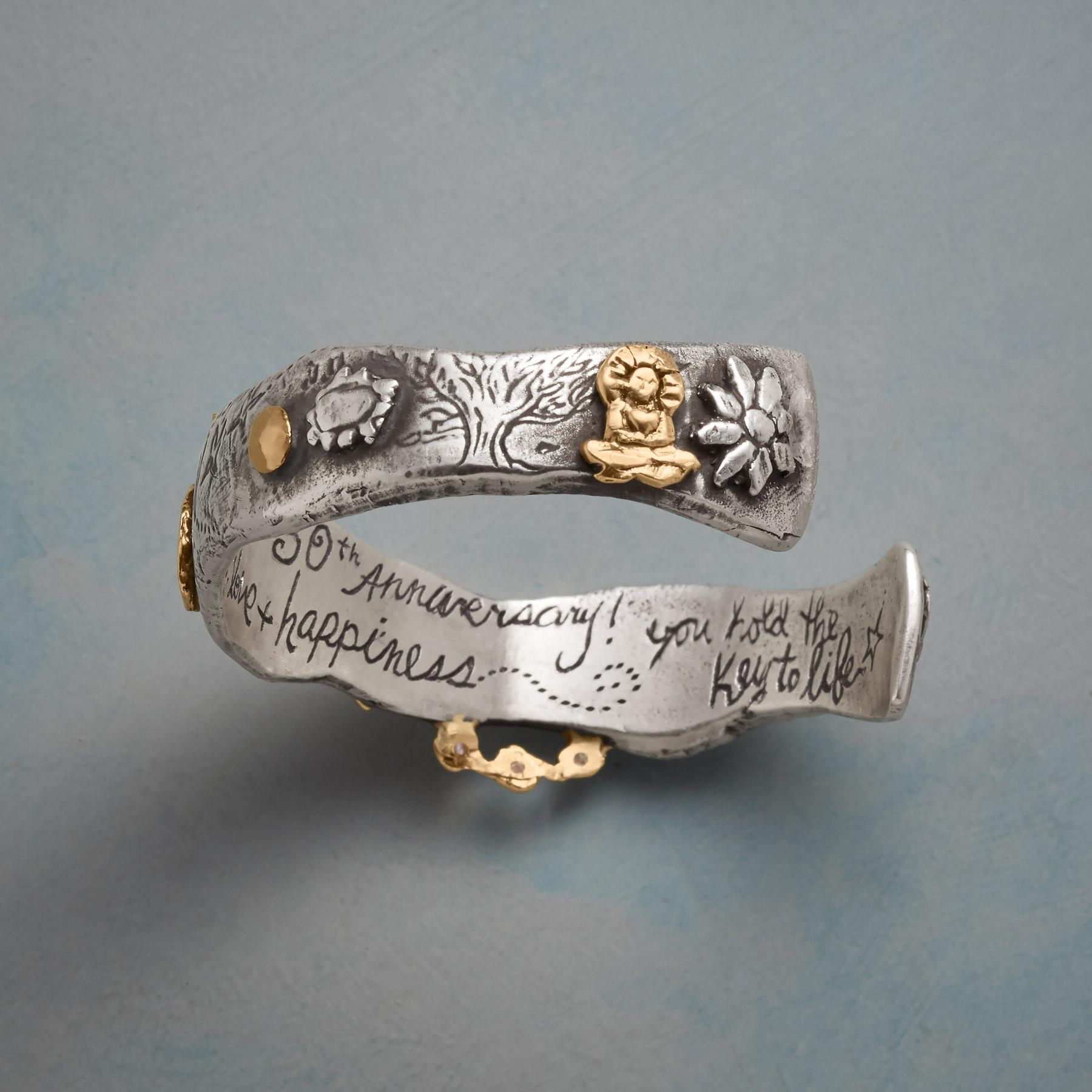 CELEBRATE LIFE, LOVE & HAPPINESS BRACELET: View 3