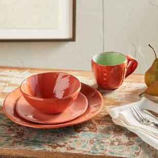MIX IT UP DINNERWARE, 4-PIECE PLACE SETTING