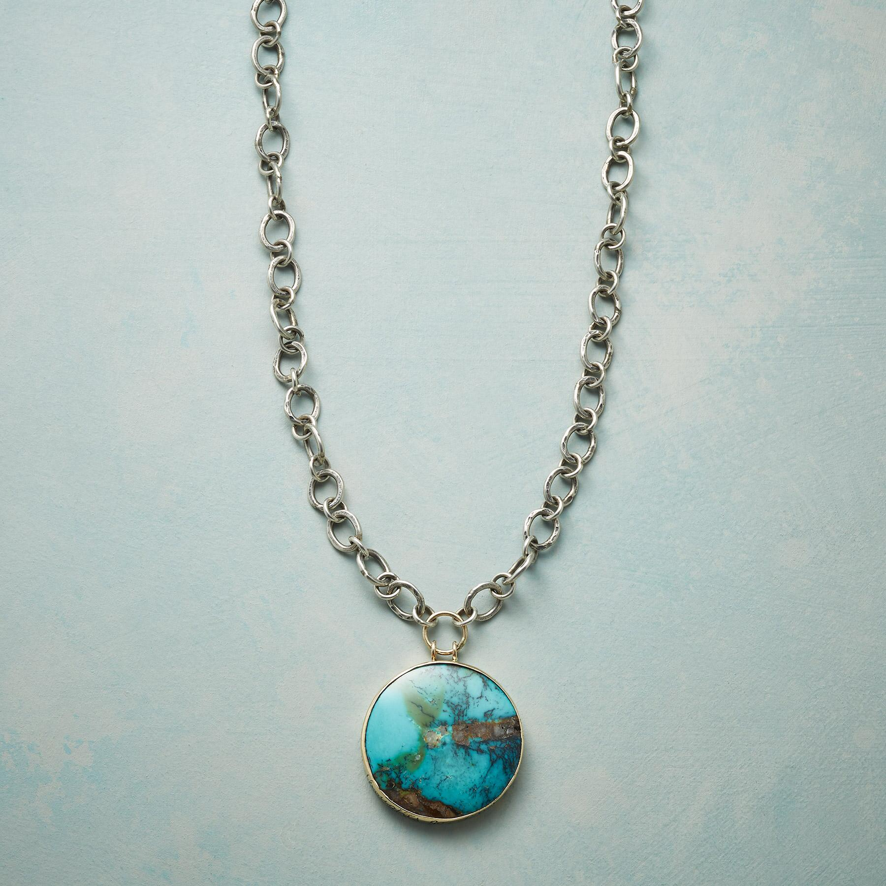 LIVE LOVE TURQUOISE NECKLACE: View 1
