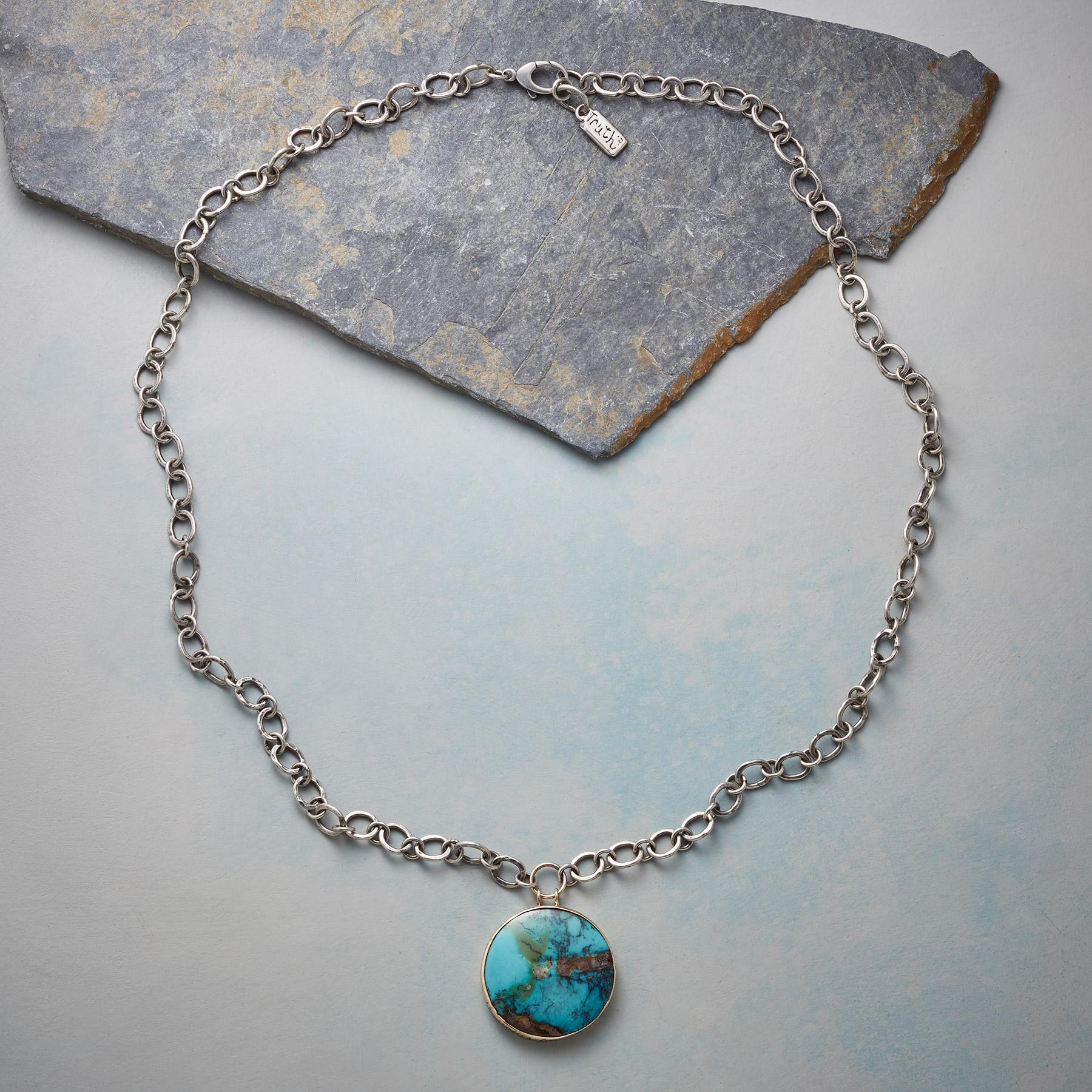 LIVE LOVE TURQUOISE NECKLACE: View 2