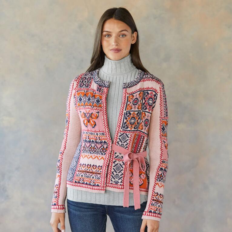 BUTTERFLY TERRACE CARDIGAN