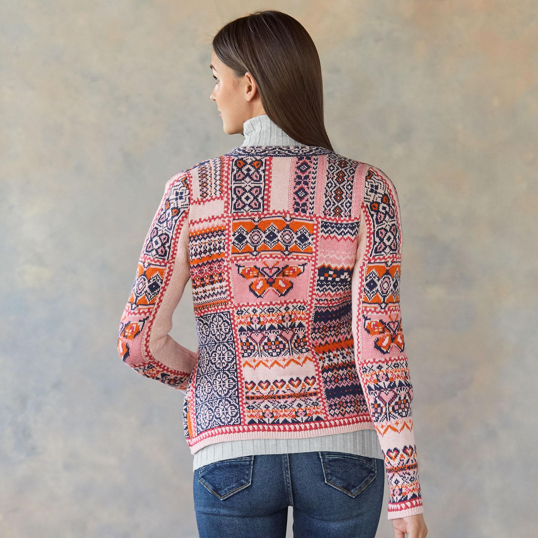 BUTTERFLY TERRACE CARDIGAN: View 2