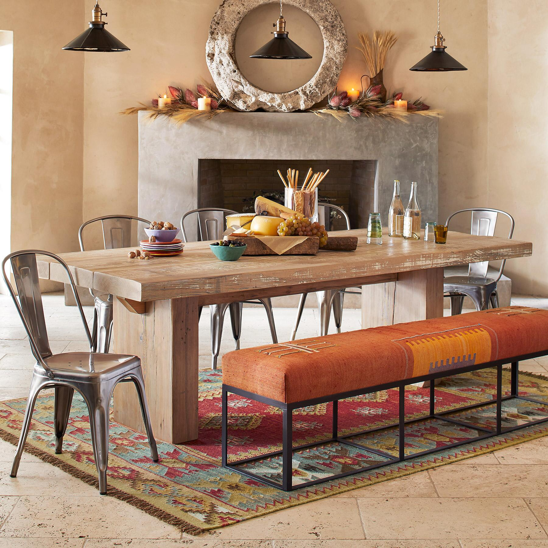 SUNDANCE HERITAGE DINING TABLE: View 1
