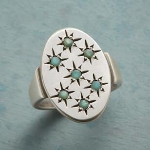 CHRYSOPRASE CONSTELLATION RING