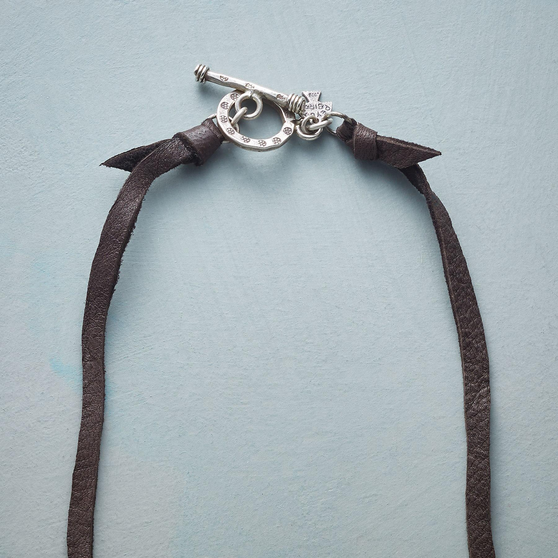 TURQUOISE AMULET NECKLACE: View 3