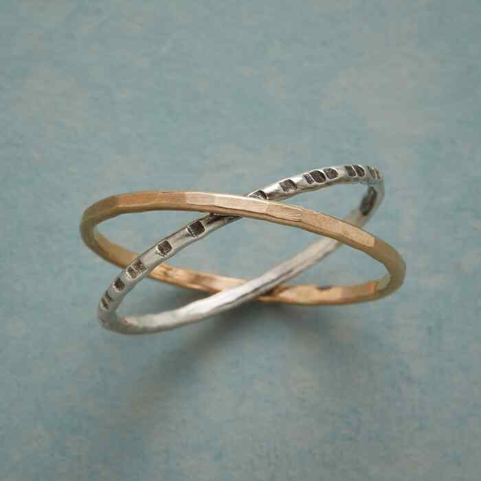 CROSSING PATHS RING