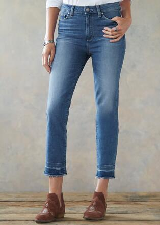 HOXTON SLIM CROPPED JEANS
