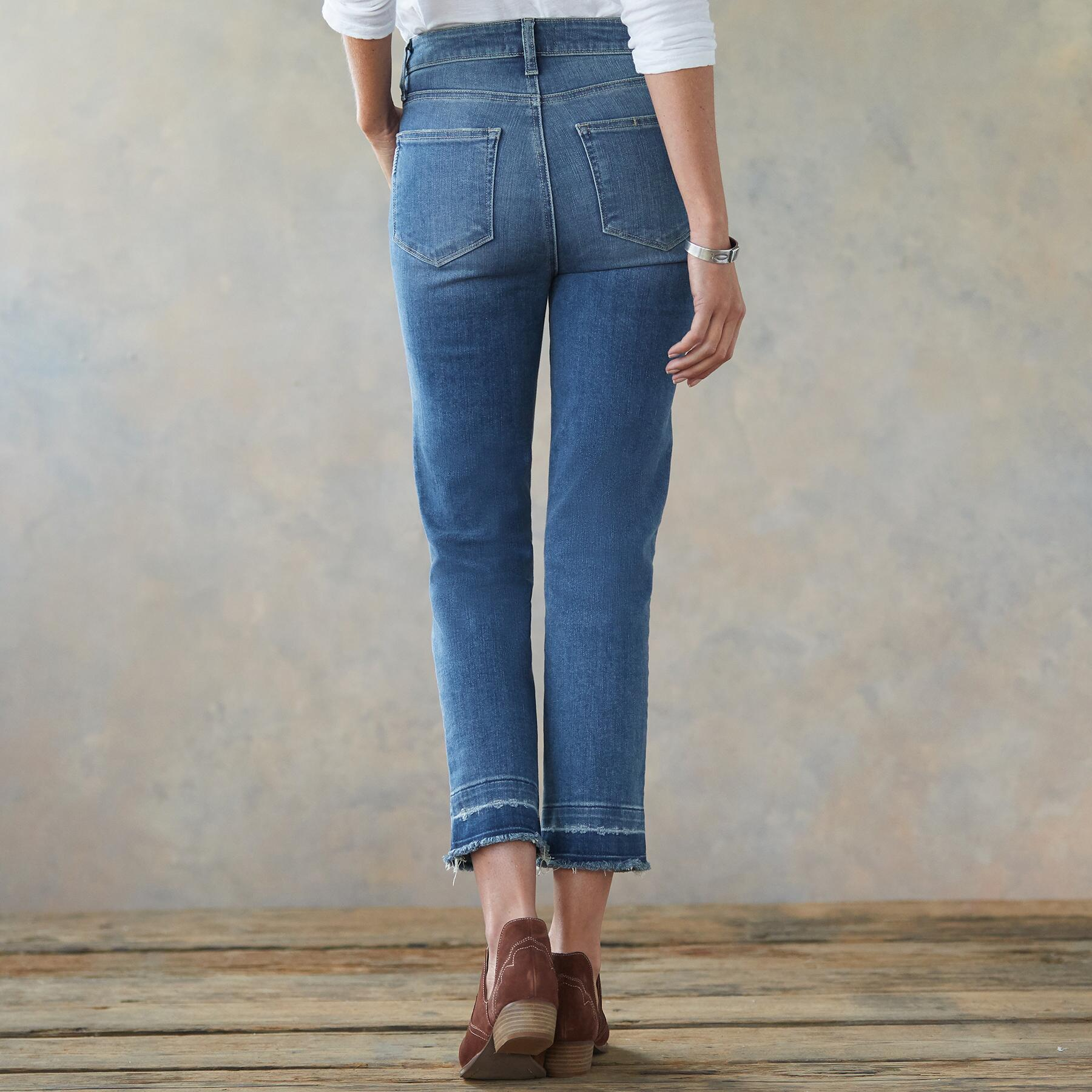 HOXTON SLIM CROPPED JEANS: View 2