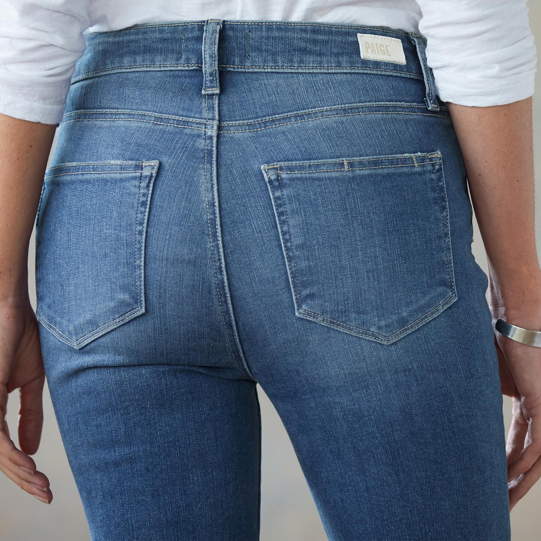 HOXTON SLIM CROPPED JEANS: View 3