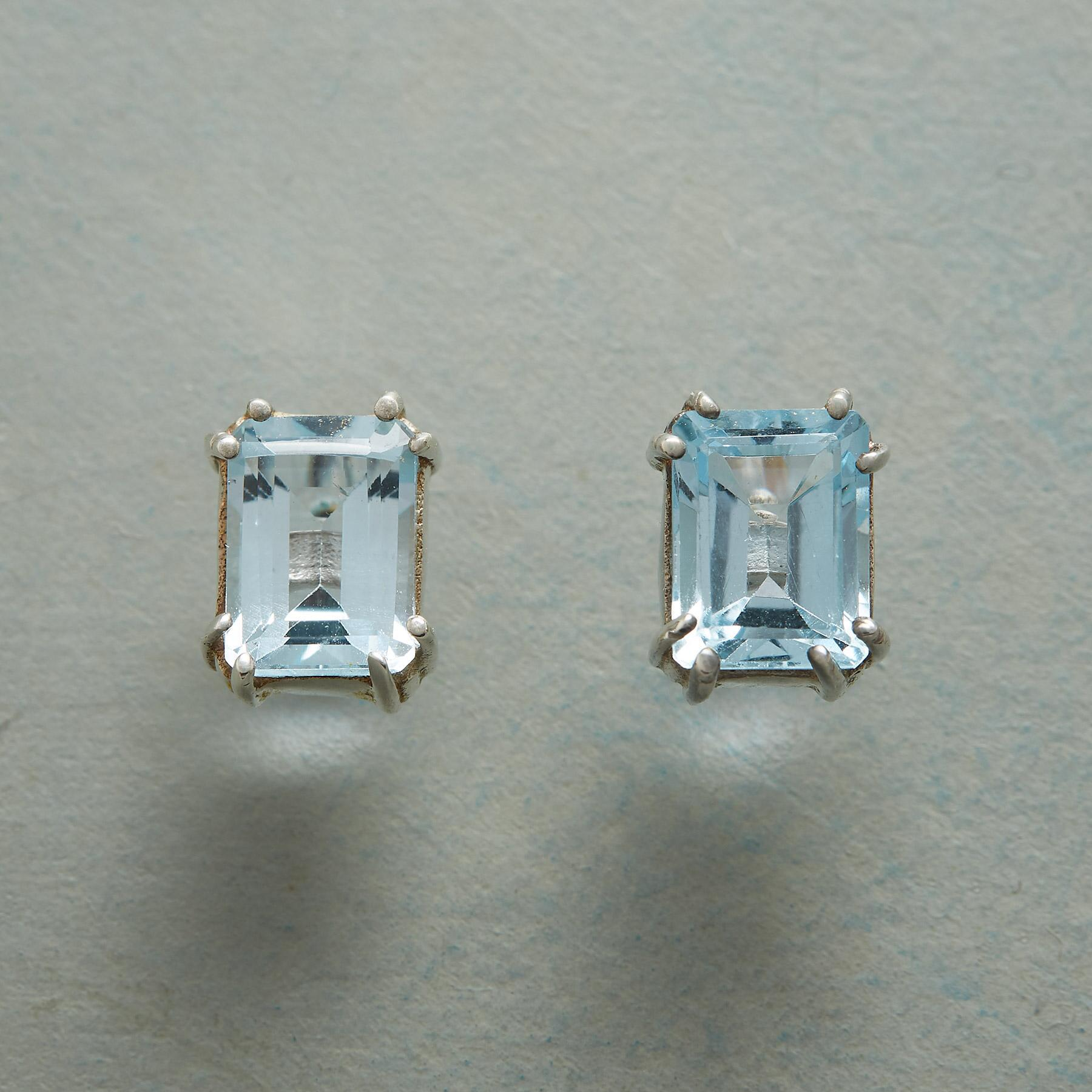 TOPAZ SKY EARRINGS: View 1