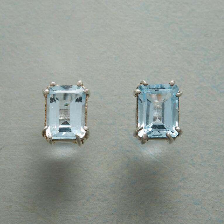TOPAZ SKY EARRINGS