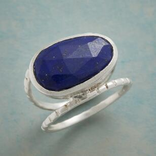 BLUE BETWEEN RING