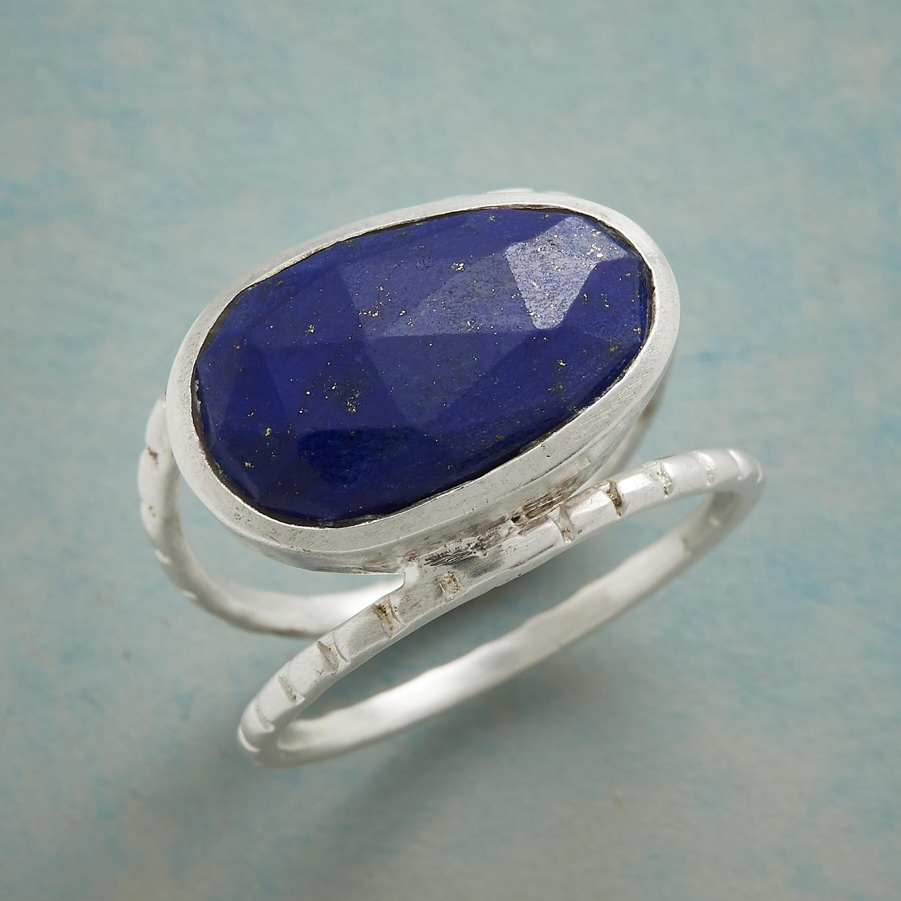 BLUE BETWEEN RING: View 1