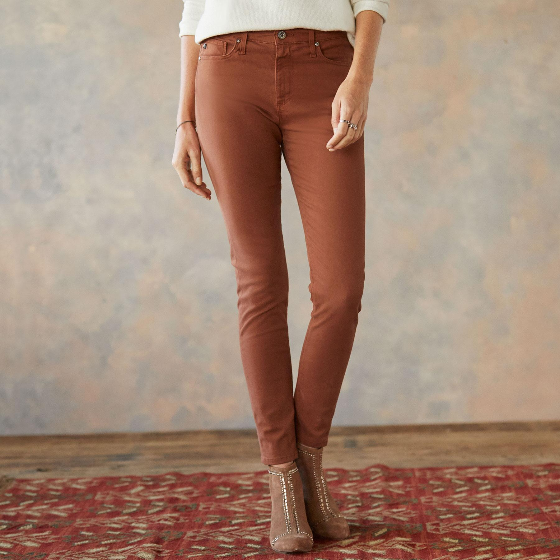 FARRAH ANKLE SKINNY JEANS: View 1