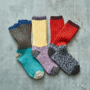 SNOWSTORM SOCKS SET OF 3