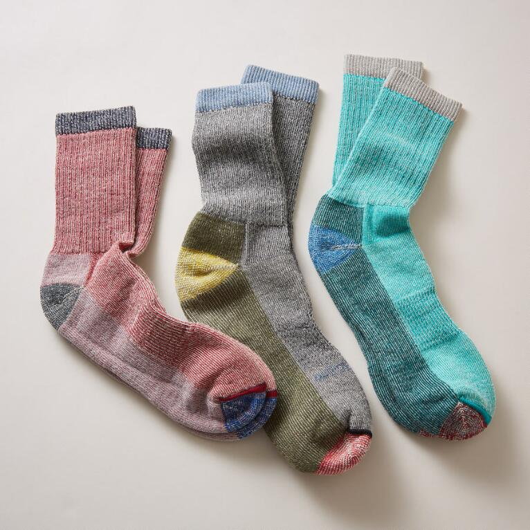 BEAR RUN SOCKS, SET OF 3