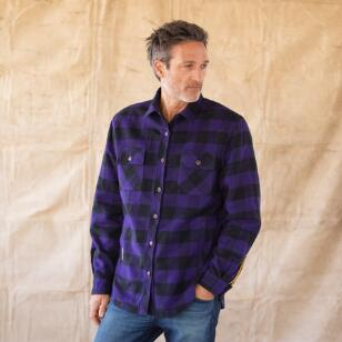 WYATT PLAID REVERSIBLE JACKET