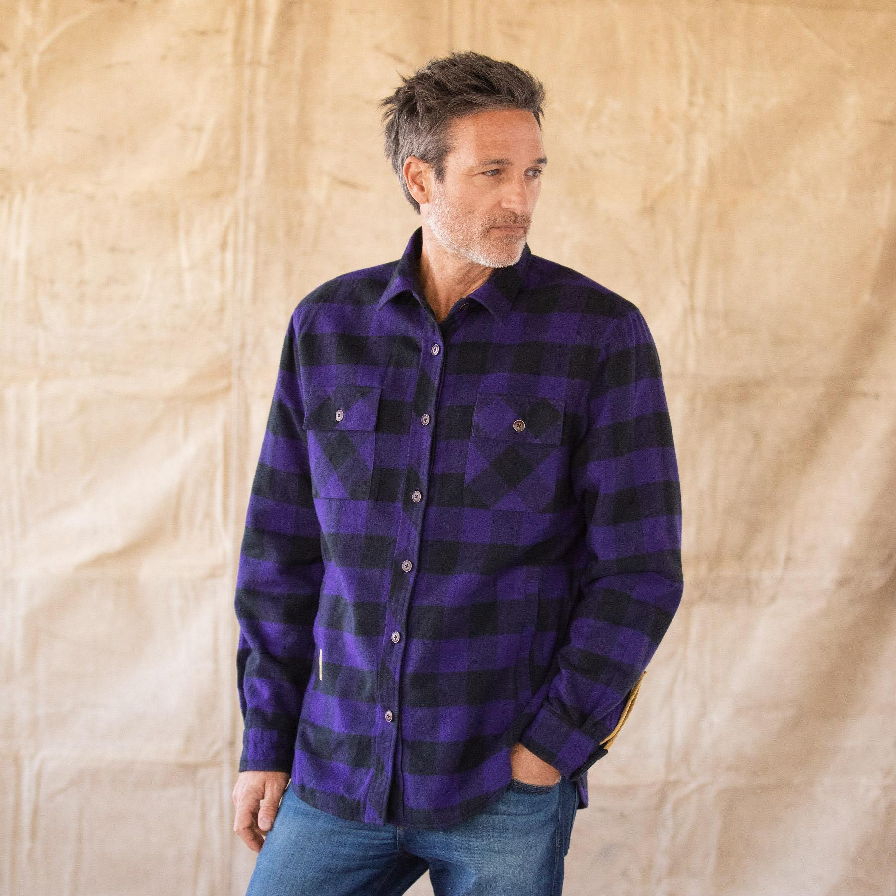 WYATT PLAID REVERSIBLE JACKET: View 1