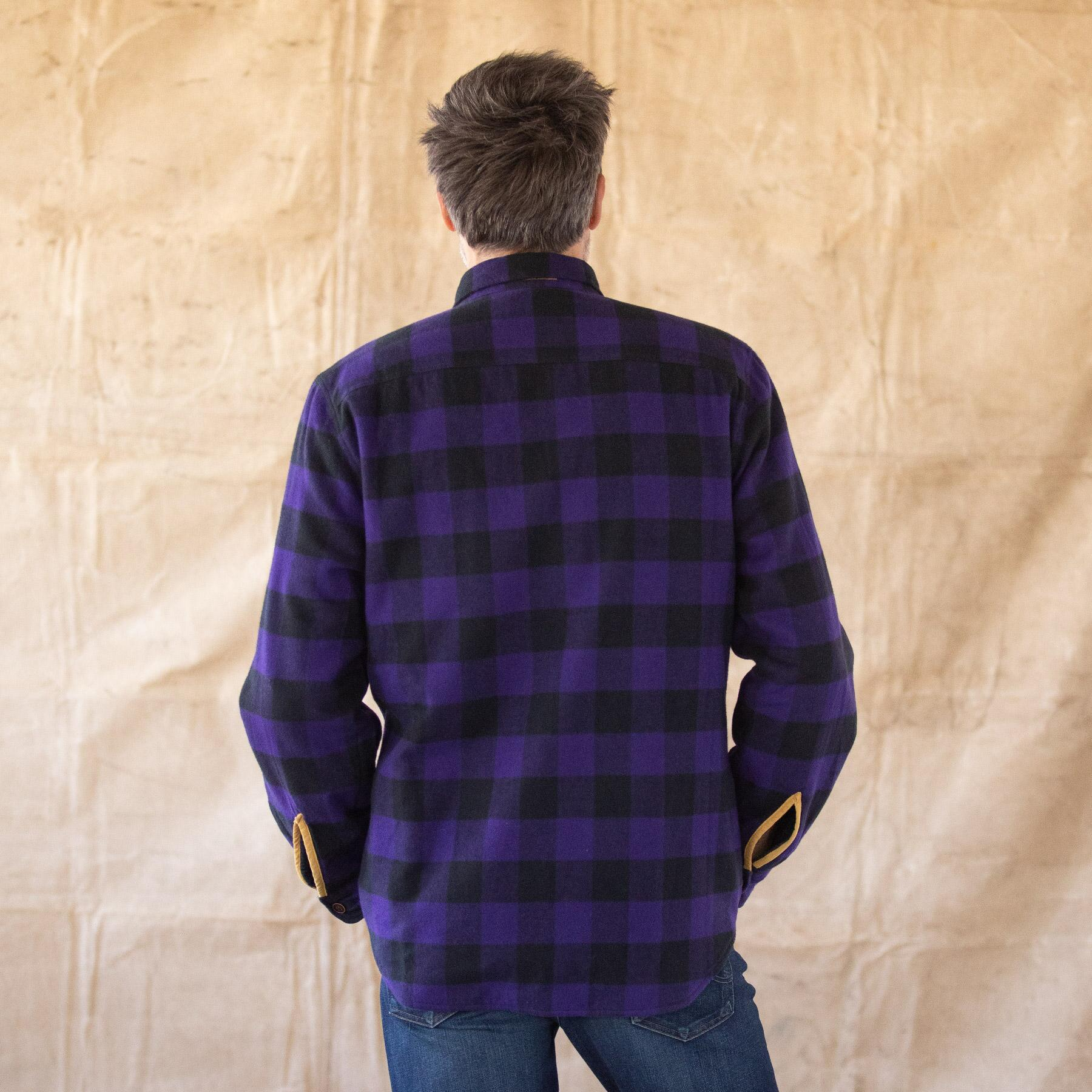 WYATT PLAID REVERSIBLE JACKET: View 2