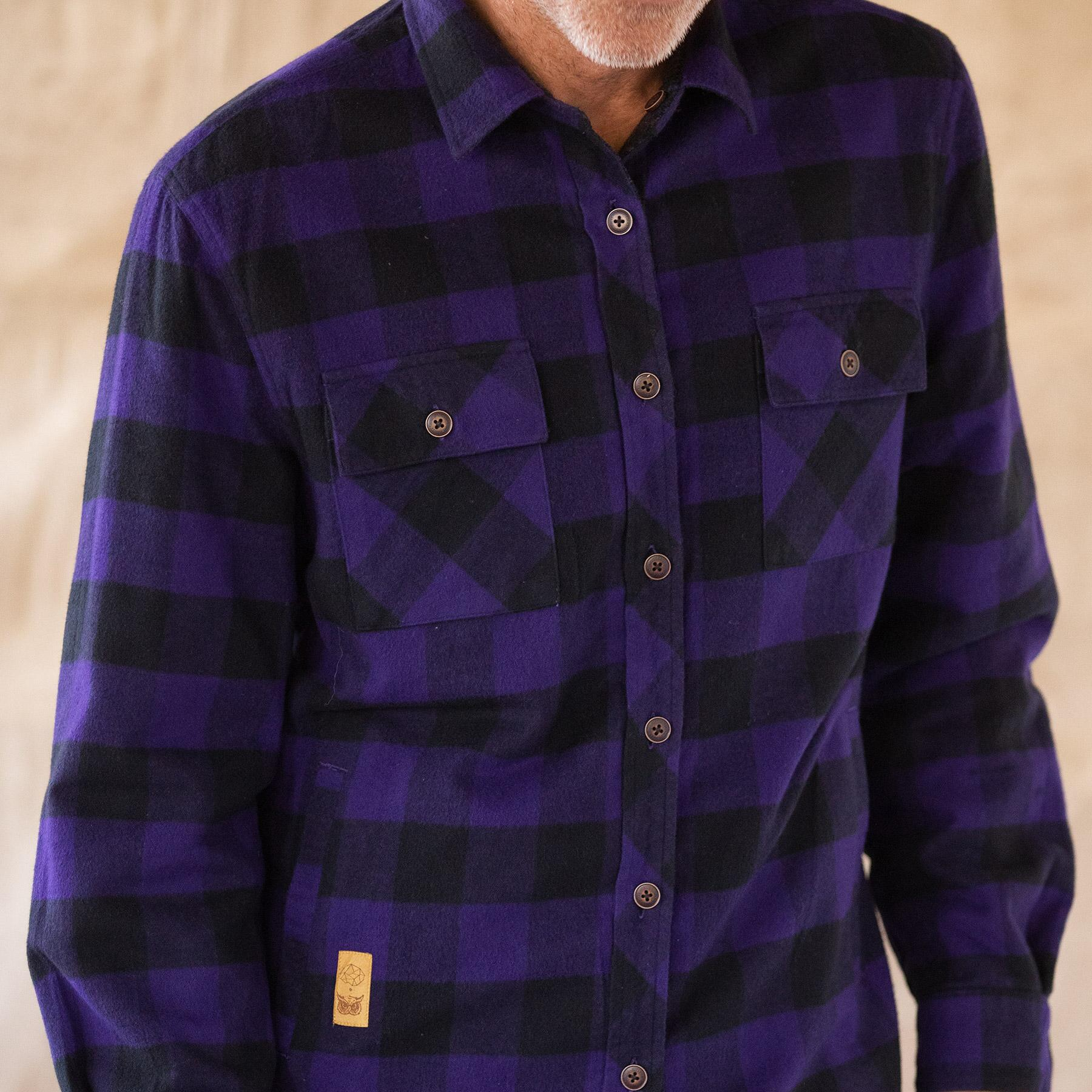 WYATT PLAID REVERSIBLE JACKET: View 3