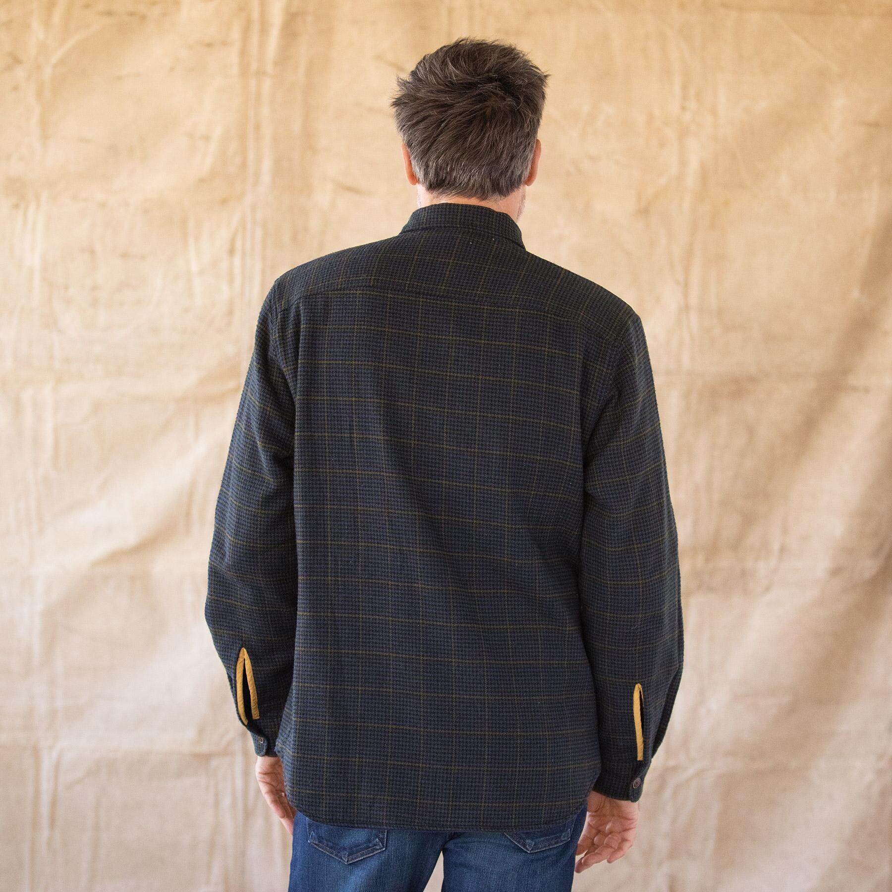 WYATT PLAID REVERSIBLE JACKET: View 6