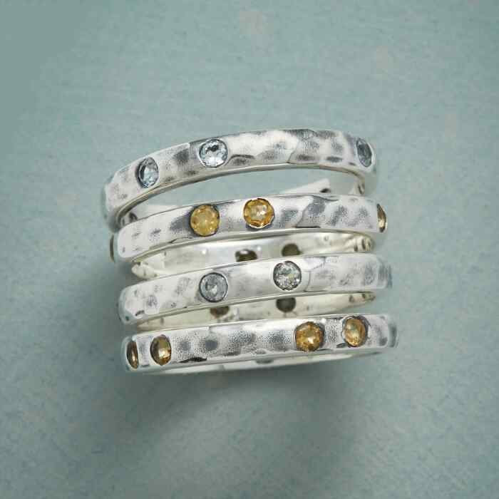 OH SUNNY DAY RING SET