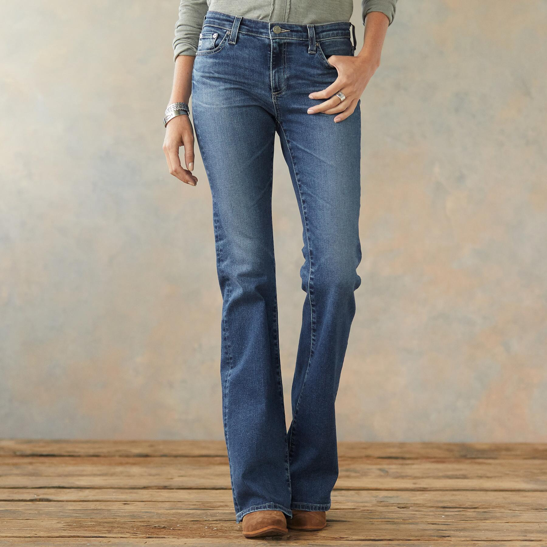 ANGEL BOOTCUT JEANS: View 1