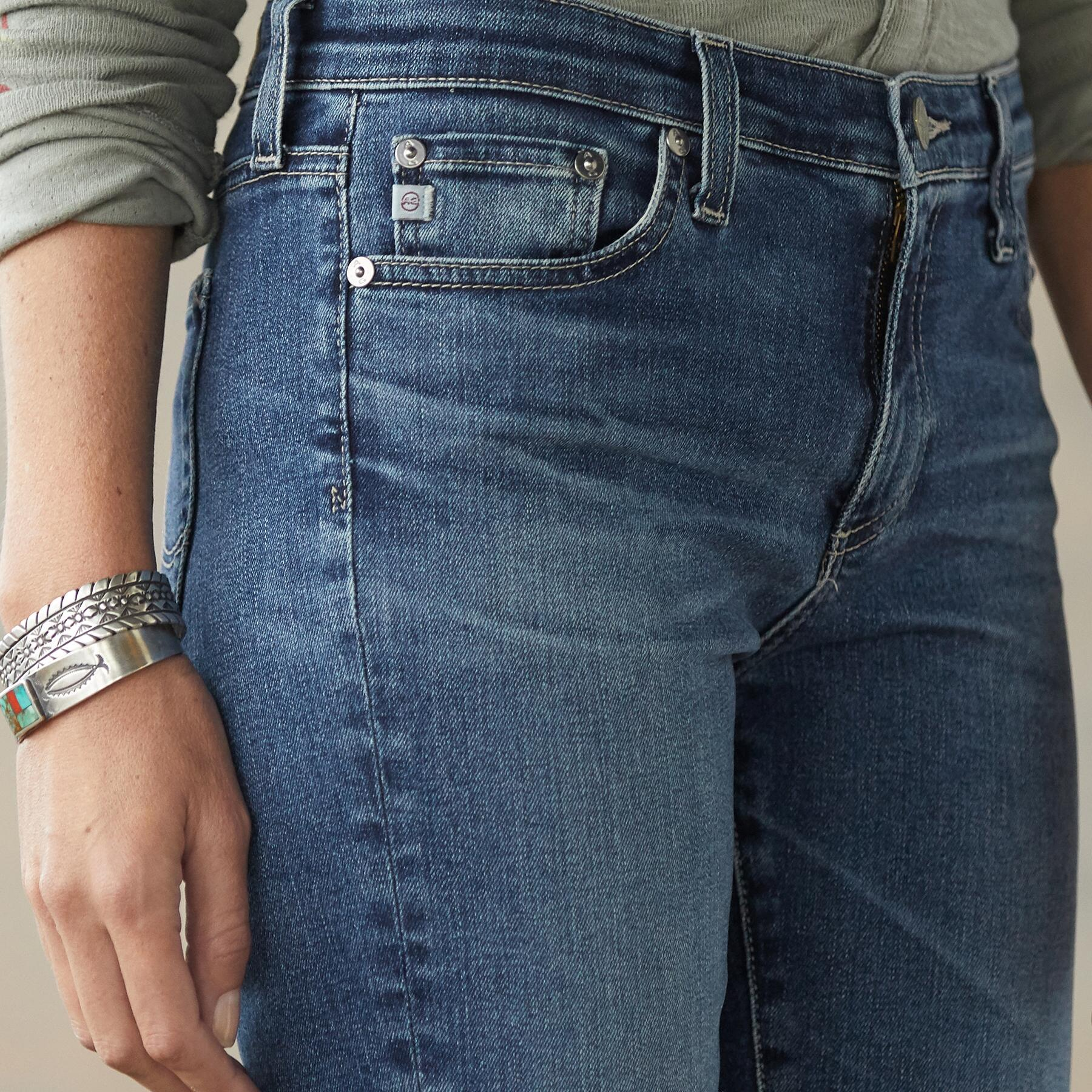 ANGEL BOOTCUT JEANS: View 4