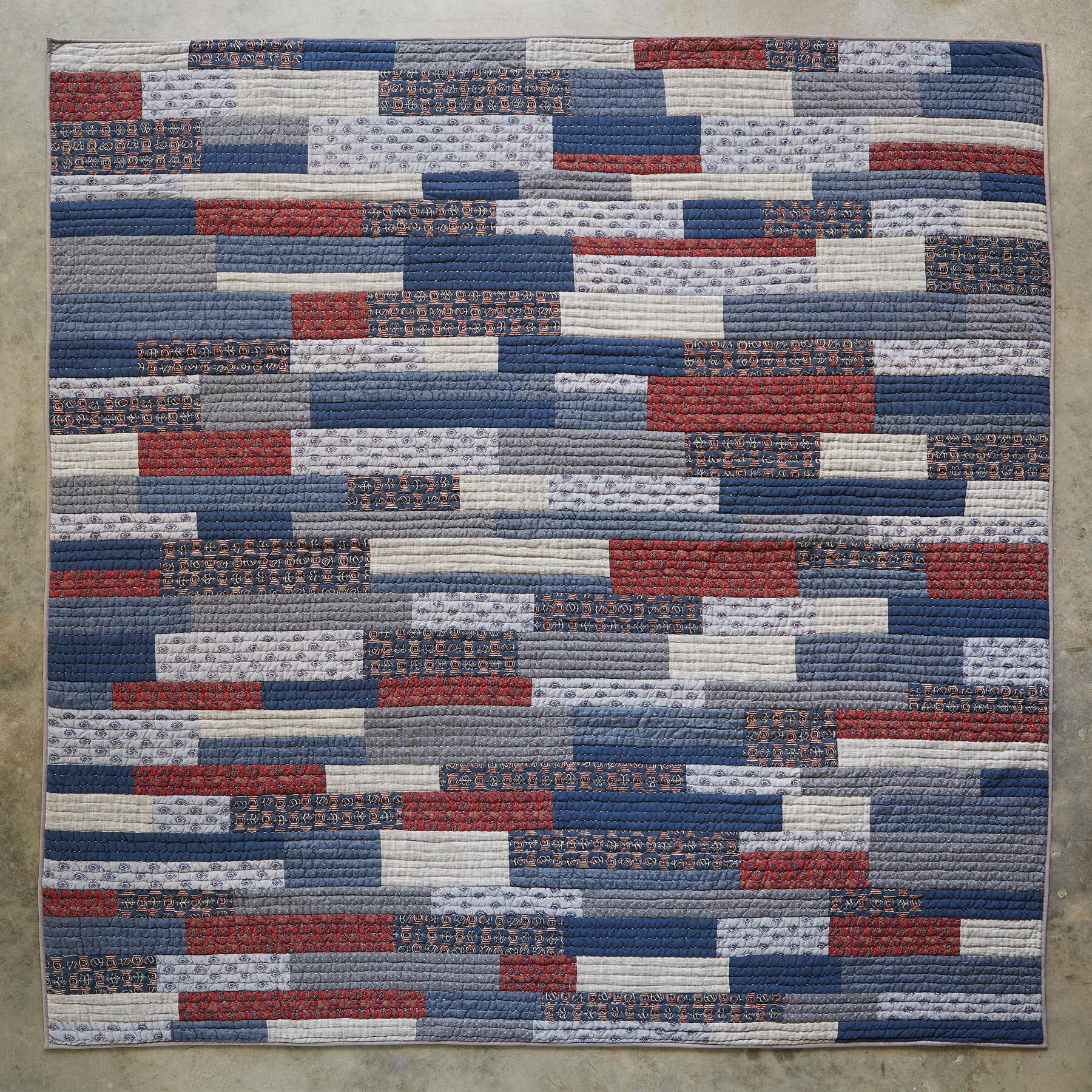 MUTED PTWK QUILT: View 2
