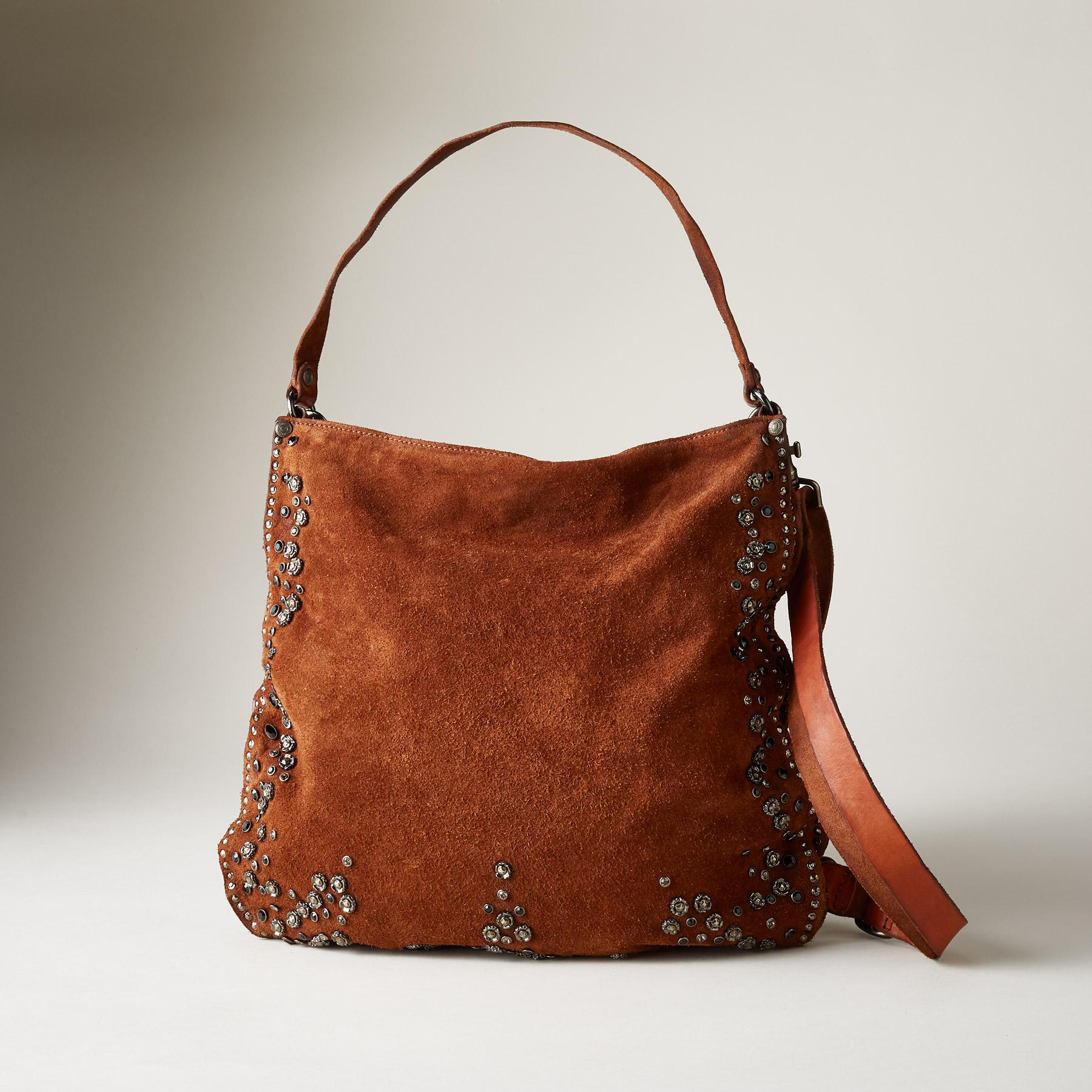 SUEDE HOBO BAG: View 1