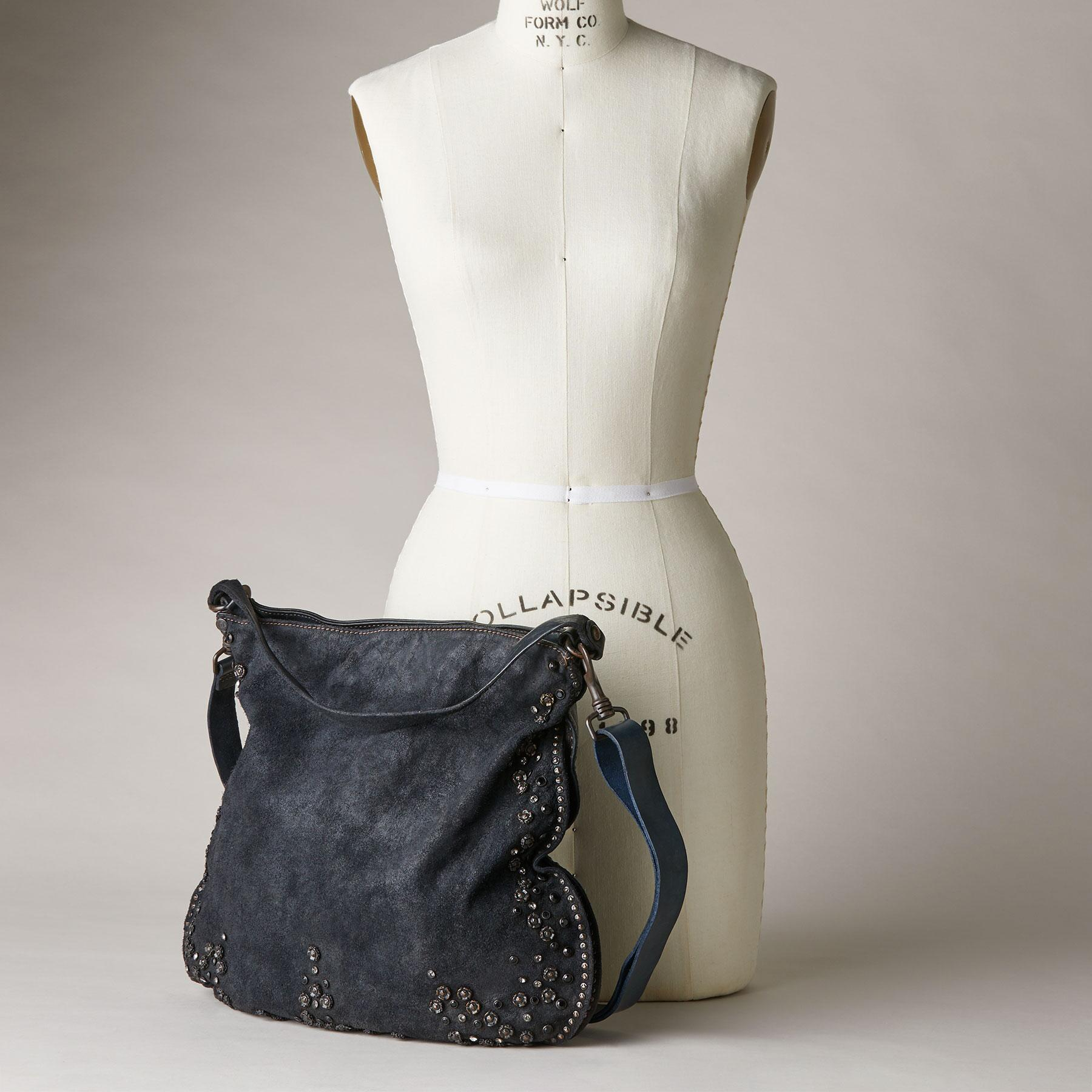 SUEDE HOBO BAG: View 6