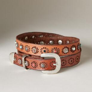 RAVENNA STARBURST STUDDED BELT