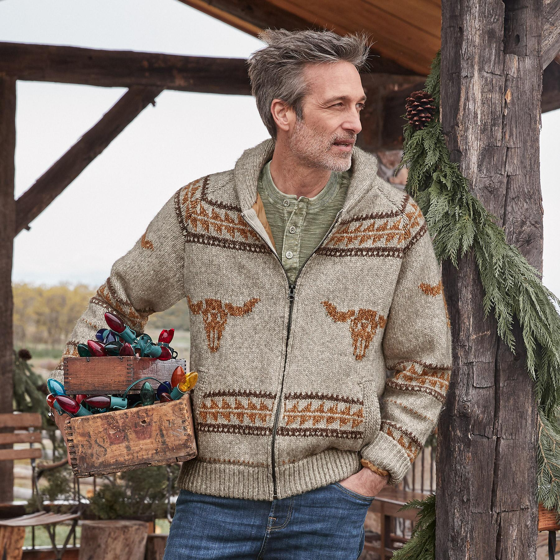HOME ON THE RANGE SWEATER: View 1