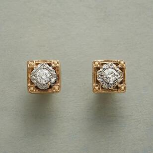 BYGONE ERA DIAMOND EARRINGS