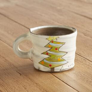 A CUP OF SENTIMENT CHRISTMAS TREE MUG