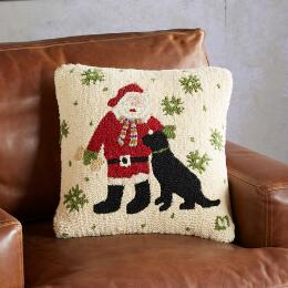 SANTA'S HELPER PILLOW