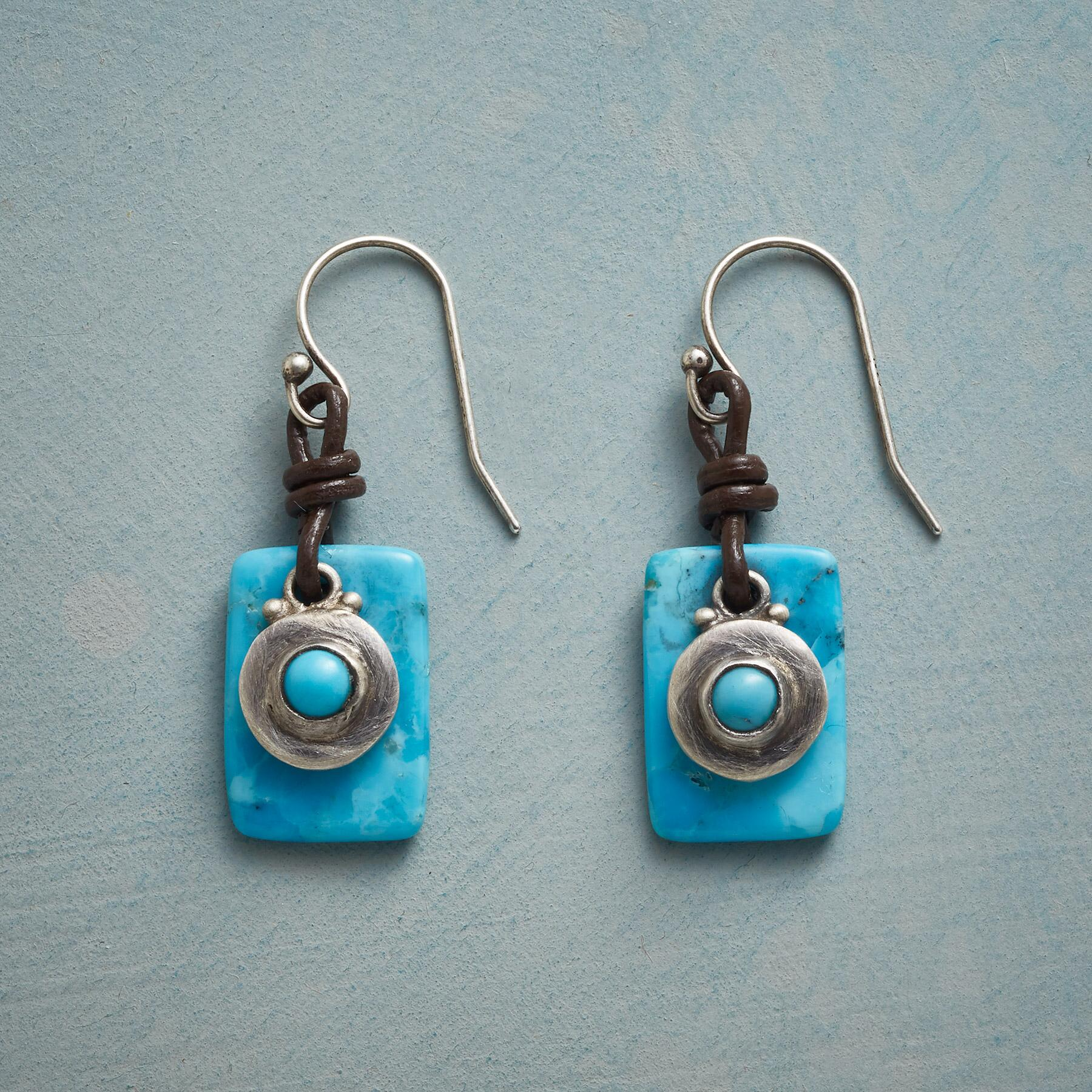 CIRCLE IN THE SKY EARRINGS: View 1