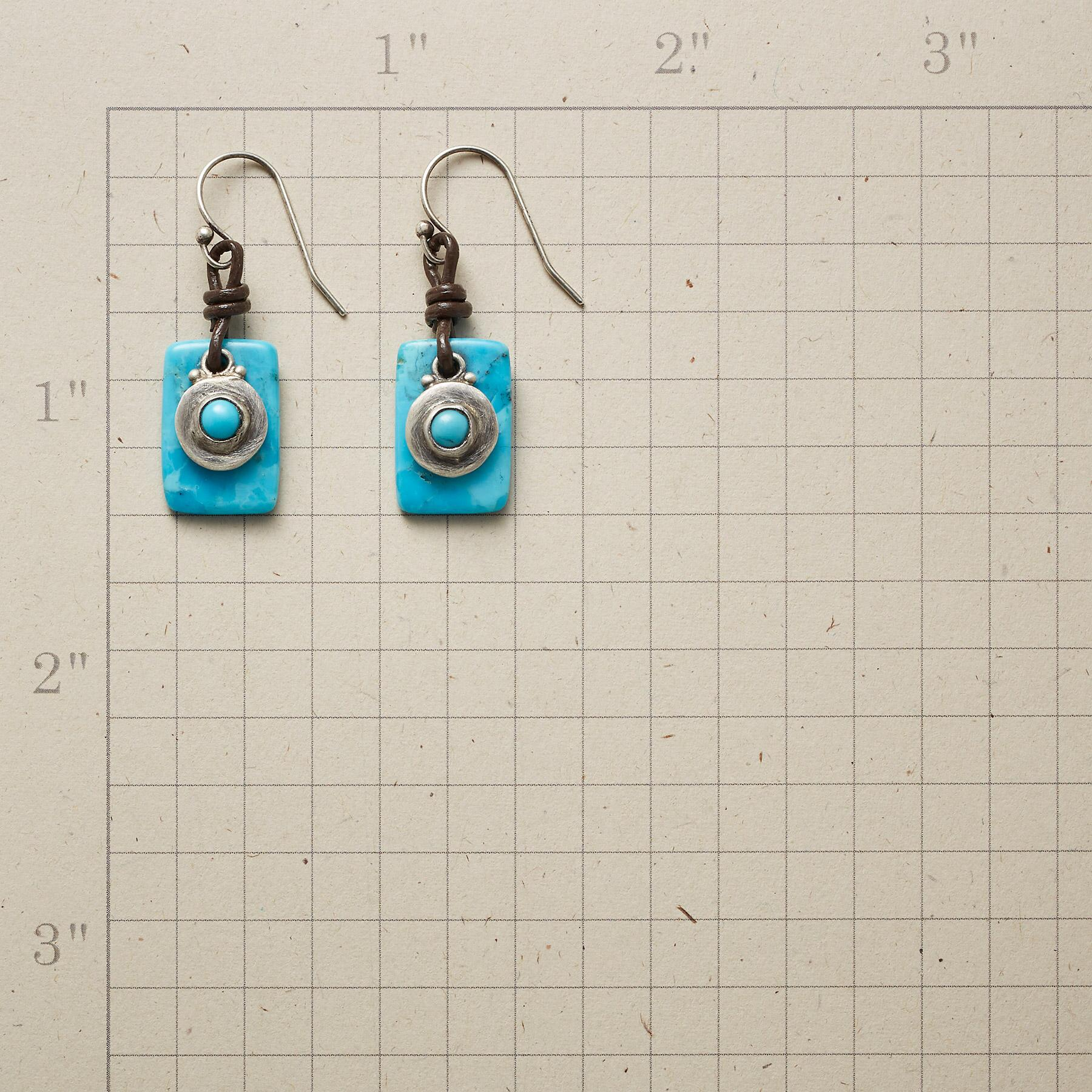 CIRCLE IN THE SKY EARRINGS: View 2