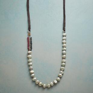 GRATEFUL PAUSE PEARL NECKLACE