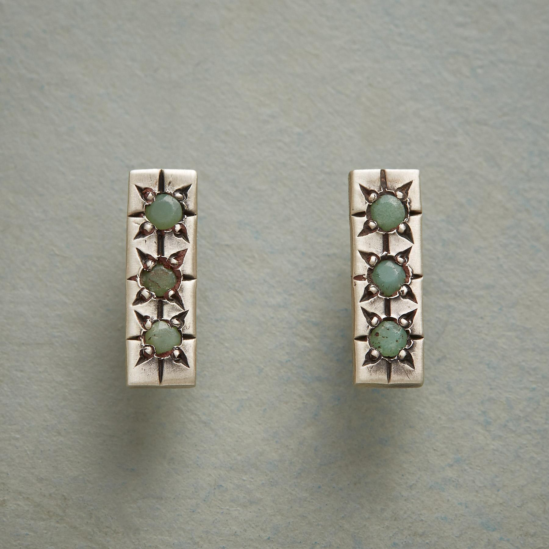 TUNDRA TWILIGHT EARRINGS: View 1