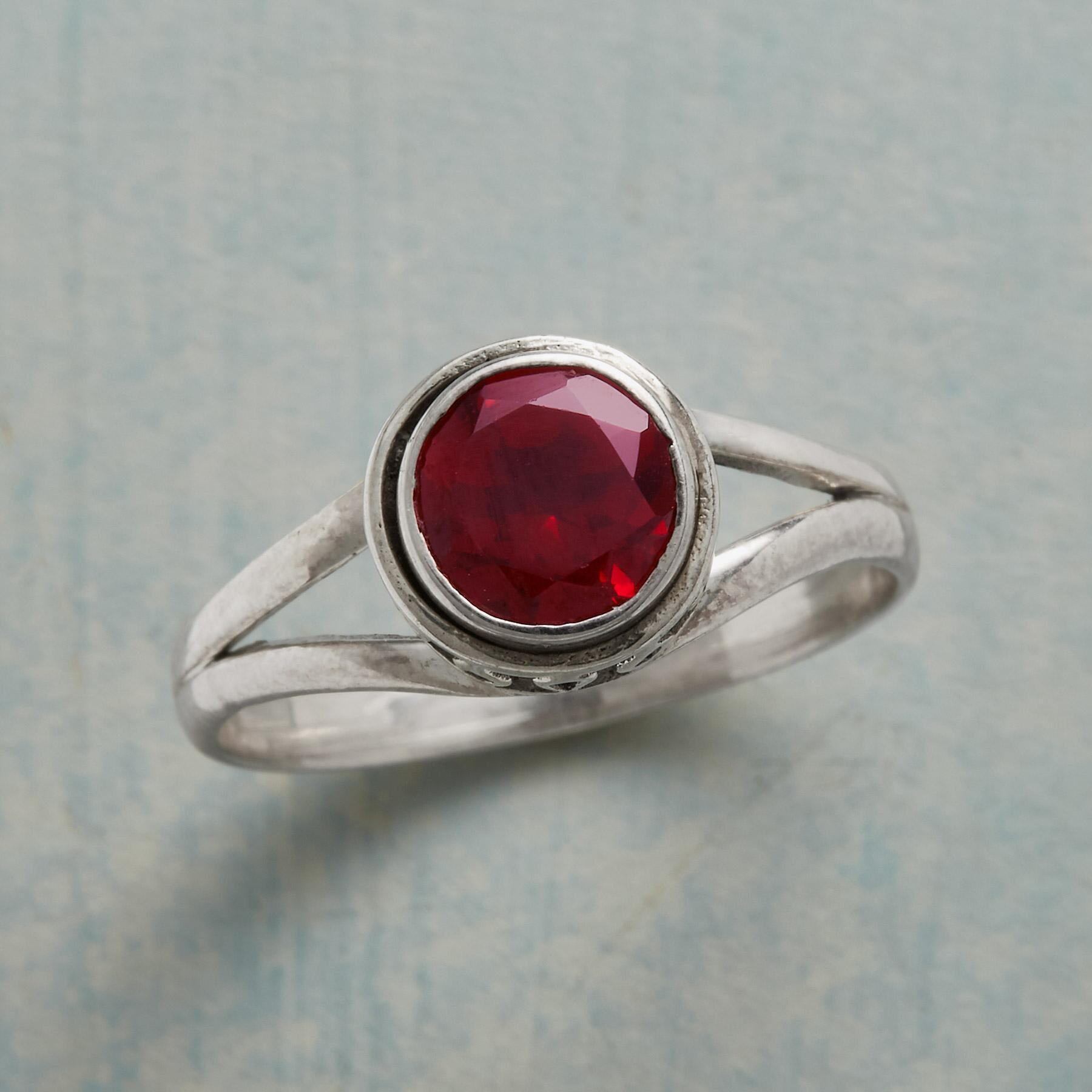 RED PEONY RING: View 1