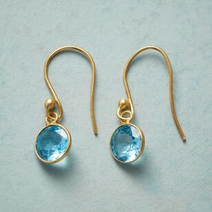 FIRST LOVE TOPAZ EARRINGS