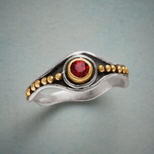 MONARCH GARNET RING