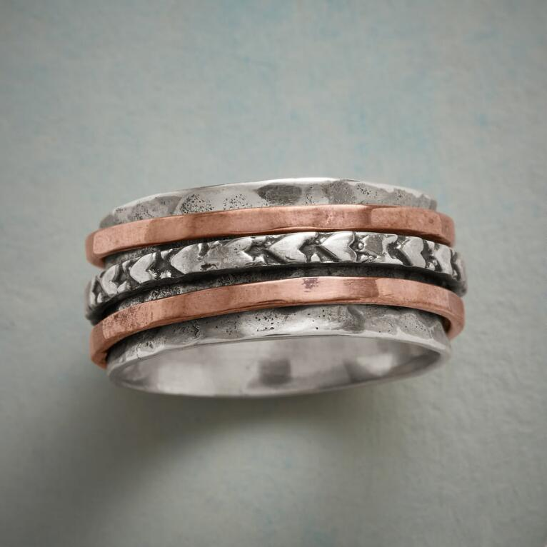 IT TAKES TWO SPINNER RING